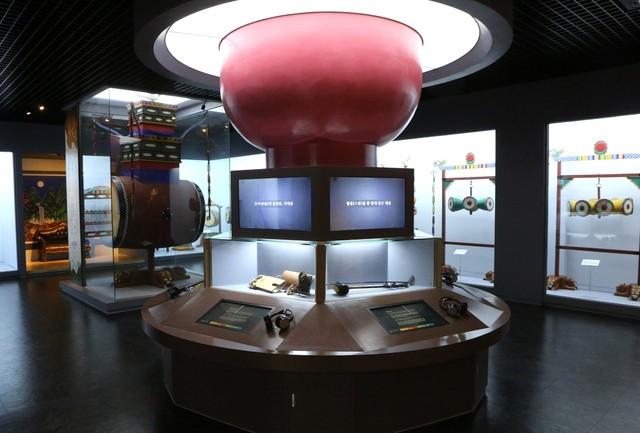 '국악의 거리' 난계국악박물관.