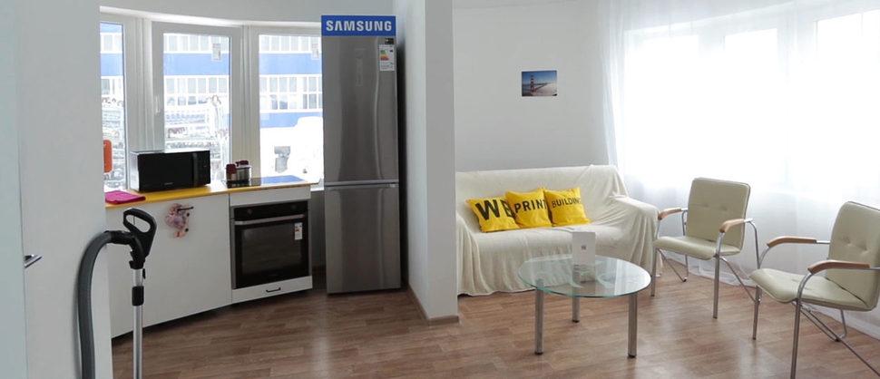 집안의 가전제품은 삼성의 협조를 받았다. 아피스 코르 제공