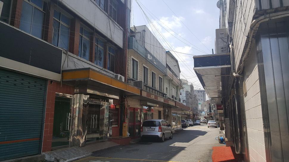 대구시 중구 도원동 성매매 집결지인 '자갈마당'에는 아직도 성매매업소 37곳이 영업중이다.