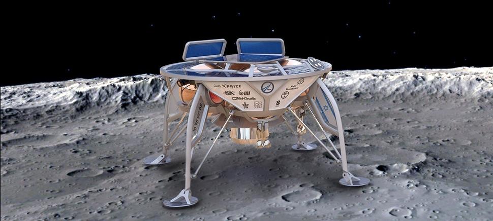 스페이스의 달 착륙선. 루나 엑스프라이즈
