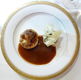 '흑미와 렌즈콩 요리, 두부와 오트밀 파테'. 바미향 기자