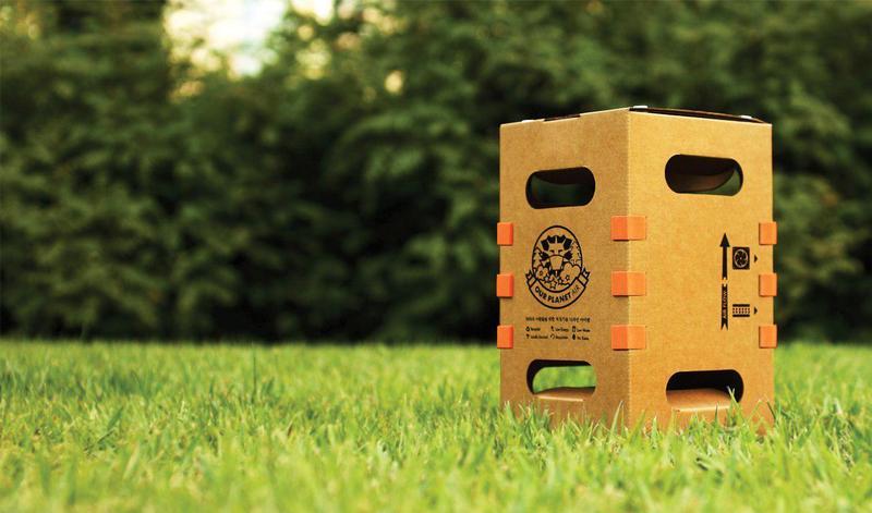 씨에이씨에서 적정기술을 활용해 내놓은 4만4천원짜리 디아이와이(DIY) 공기청정기 '아워 플래닛 에어'. 사진 씨에이씨(CAC) 제공