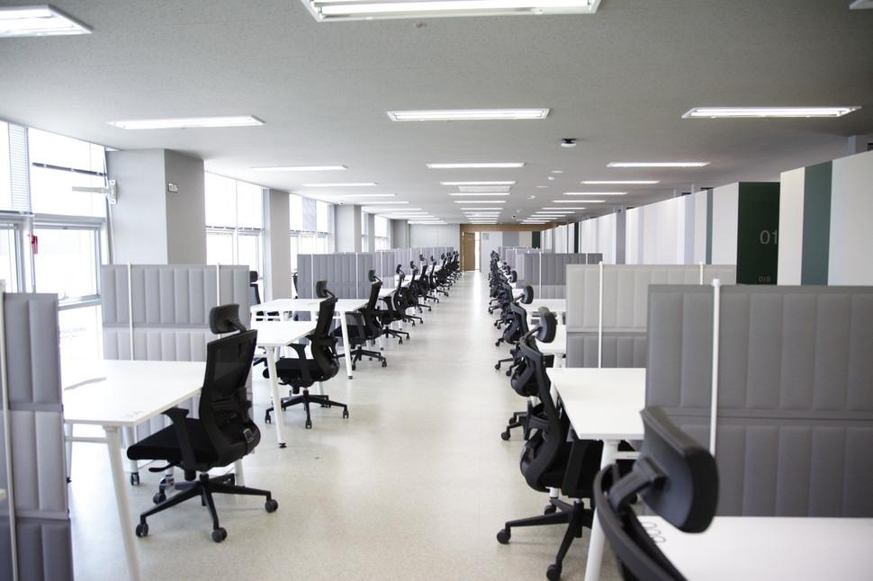 입주 사회적기업들이 사용할 사무 공간 (주)마르코로호 제공