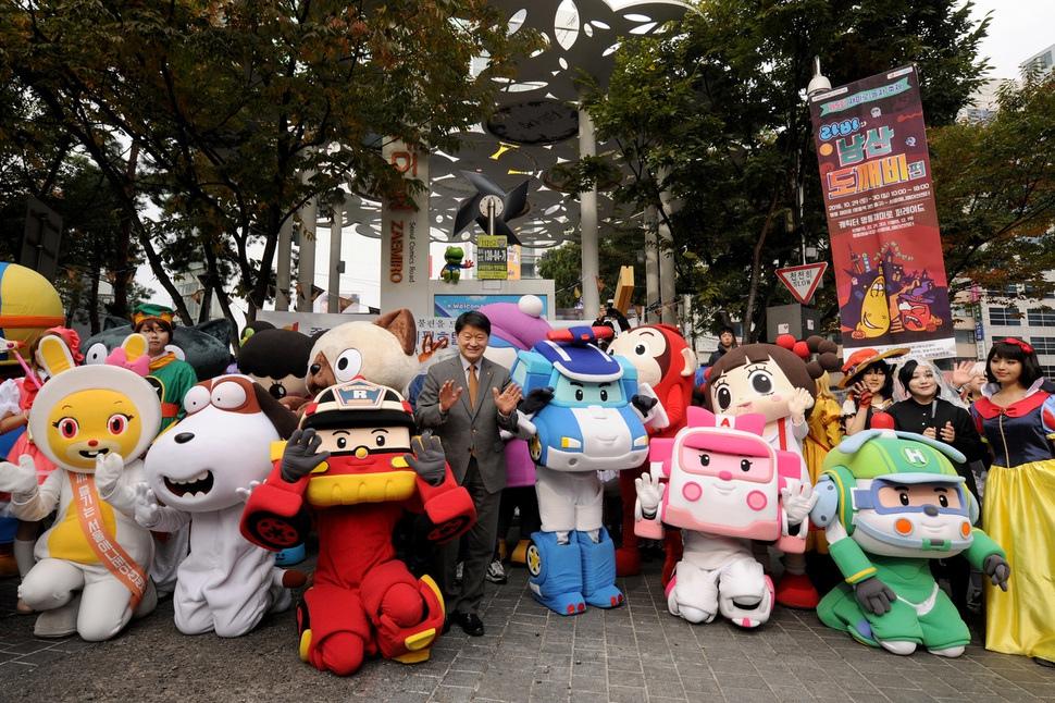 지난해 열린 서울 중구 만화의 거리 축제 현장 중구청 제공