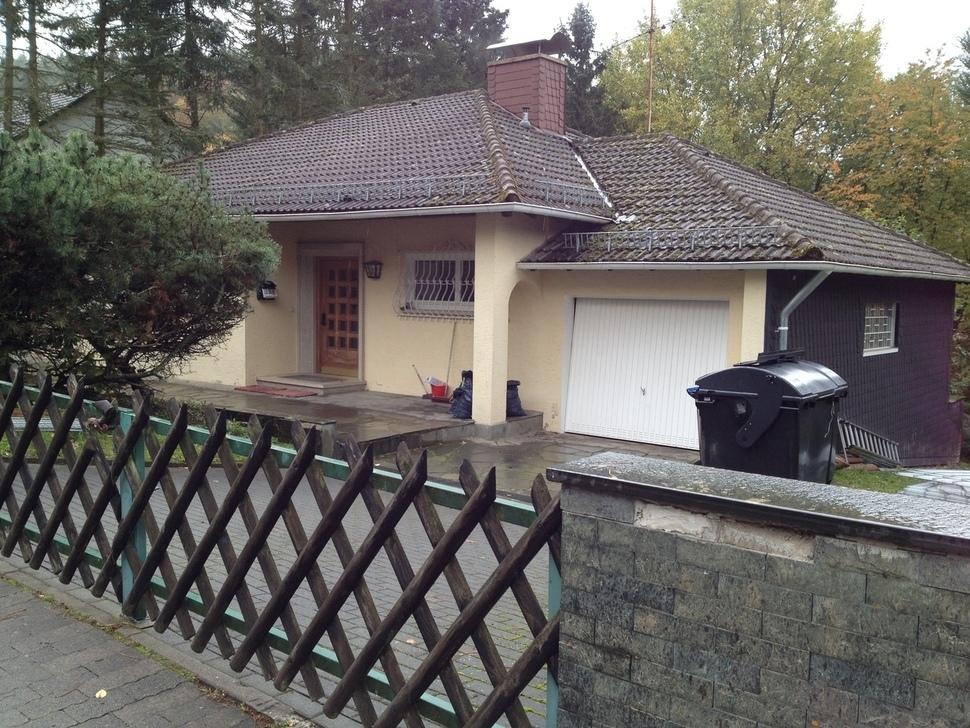 최순실씨와 딸 정유라씨 가족이 머문 것으로 추정되는 독일 프랑크푸르트 인근 그라벤 비센베르그가의 한 주택. 프랑크푸르트/송호진 기자