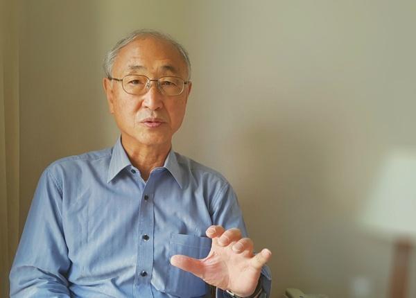 일본 '해남도 근현대사연구회' 사토 쇼닌 대표.