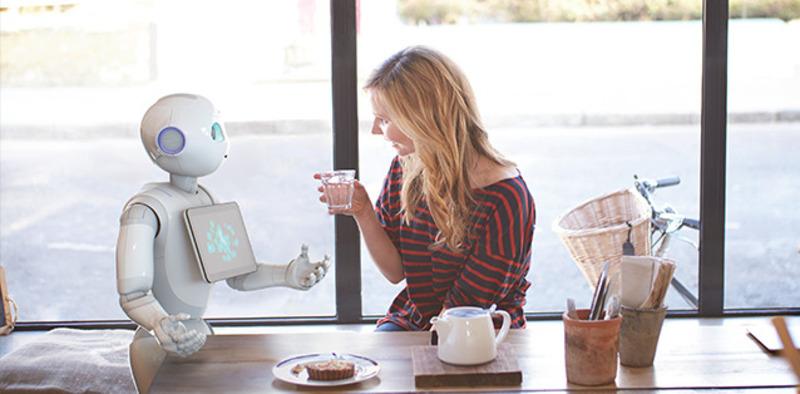 일본 소프트뱅크가 일본에서 판매 중인 세계 최초의 감성인식 로봇 페퍼.