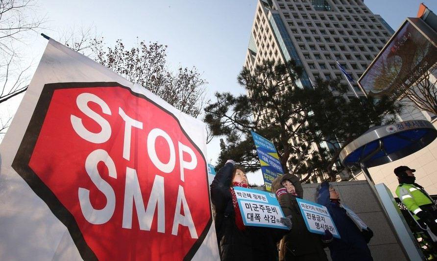 한국 '연 1조 간접지원'…분담금 협상엔 7년째 빠져