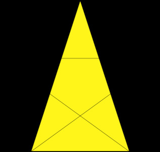 황금 삼각형  출처: 위키피디아