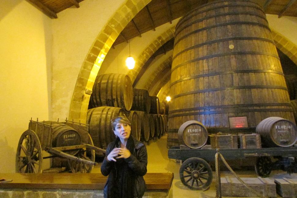 시칠리아 와인의 대명사인 마르살라 지역의 플로리오 와이너리.