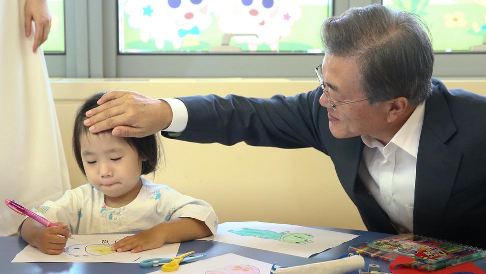 병원비로 가계파탄 없게 문 대통령 성모병원서 발표한 까닭