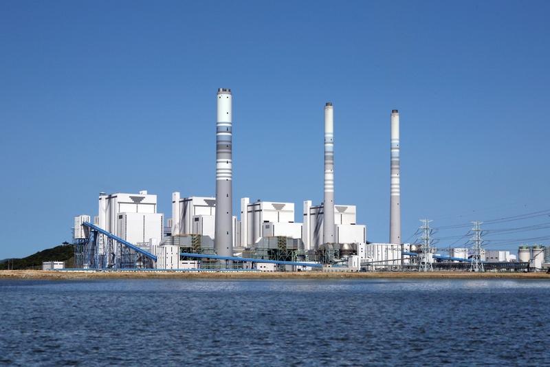 영흥화력발전소의 모습. 한겨레 자료사진