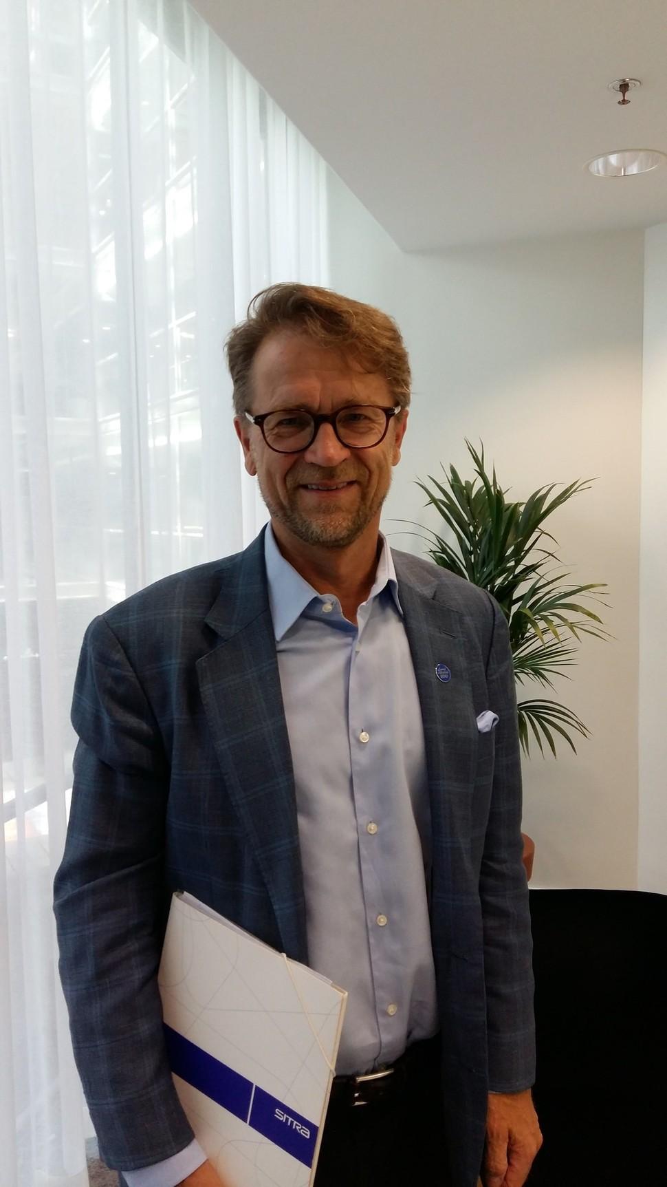 핀란드의 싱크탱크, 시트라의 소장 미코 코소넨을 김윤태 고려대 교수가 방문해 이야기를 나누었다.