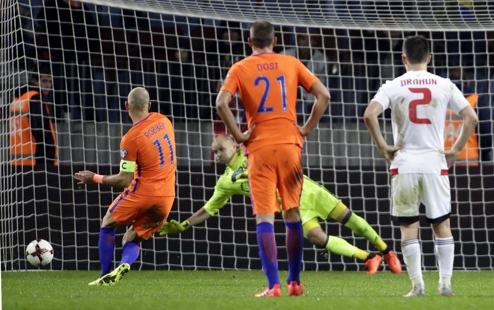 네덜란드 월드컵 사실상 탈락