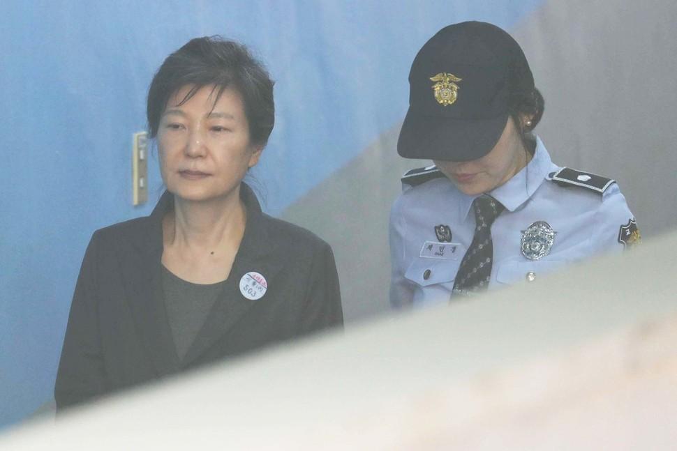 박근혜 재판 불출석…법원, 국선변호인 선임 결정