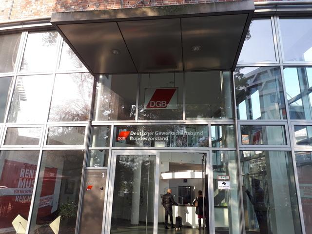 독일 '노동 4.0' 사회적 대화를 이끈 기관 중 하나인 독일노동총동맹.