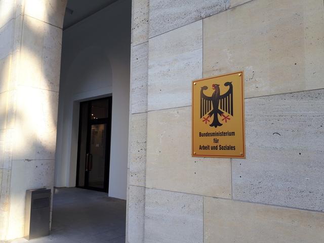 독일 '노동 4.0' 사회적 대화를 이끈 기관 가운데 하나인 독일 연방노동사회부.