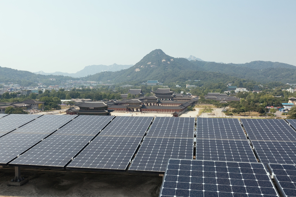대한민국역사박물관 태양광 발전센터 서울시 제공