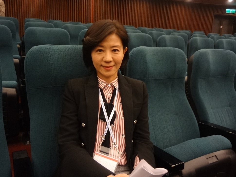 아시아 최초로 개 식용 금지 법안을 통과시킨 대만 국민당 왕유민 국회의원.