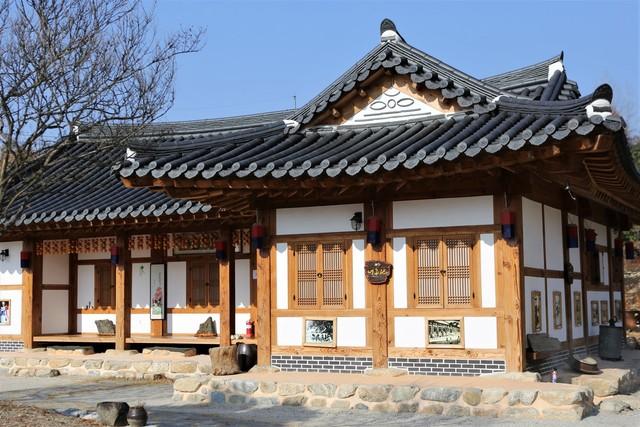 남원 함파우소리체험관의 한옥 숙소.