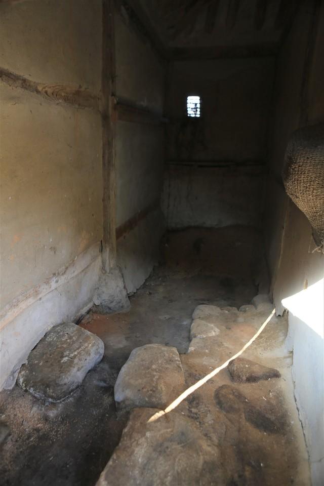 몽심재 고택엔 재래식 변소도 옛 모습 그대로 남아 있다.