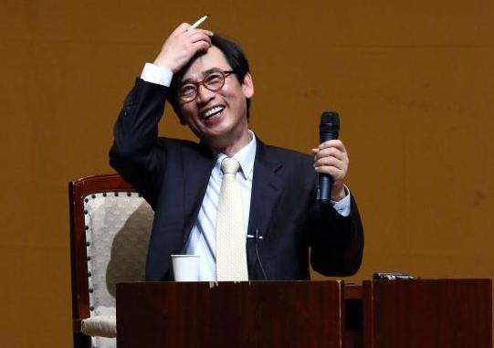 유시민 전 보건복지부 장관. 노무현 재단 제공