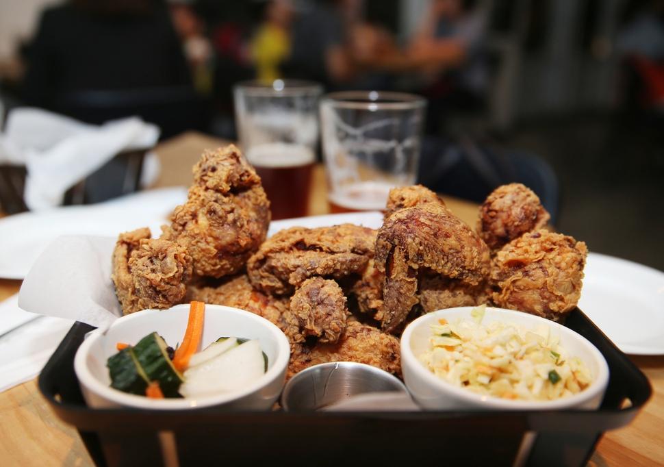 페일 에일과 치킨