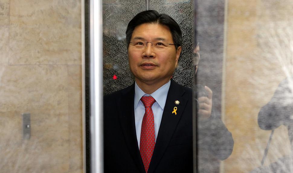 홍문종 자유한국당 의원. 한겨레 자료사진
