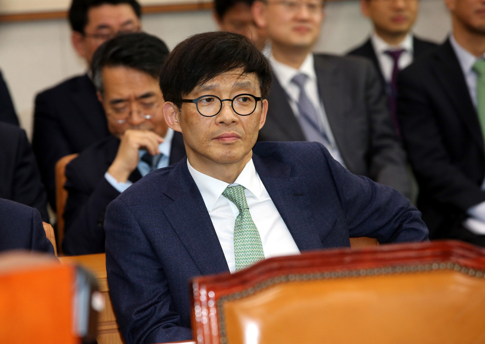 성추행 사건 가해자로 지목된 안태근 전 법무부 검찰국장. 김태형 기자 xogud555@hani.co.kr