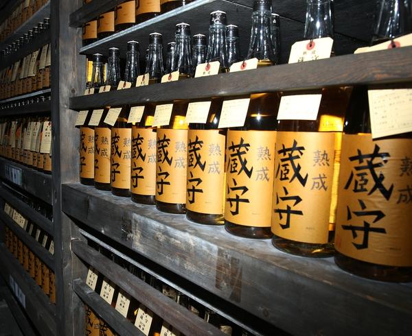 오자와양조장의 빈티지 사케들. 박미향 기자