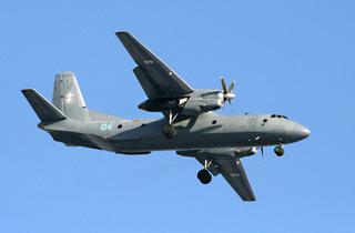 러시아 공군의 An-26 수송기.