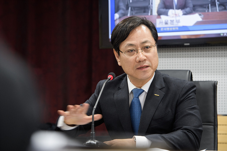 오영식 한국철도공사(코레일) 사장. 사진 코레일 제공
