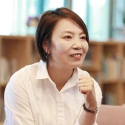 광주 광산구청장 선거에 도전하는 윤난실씨.