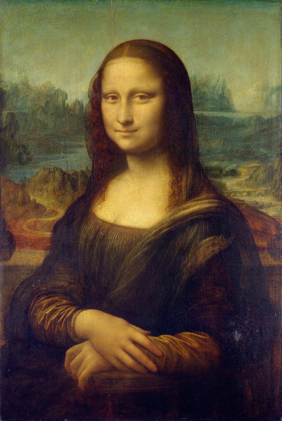 레오나르도 다빈치의 <모나리자>(1503~1506년). 파리 루브르 박물관 소장.