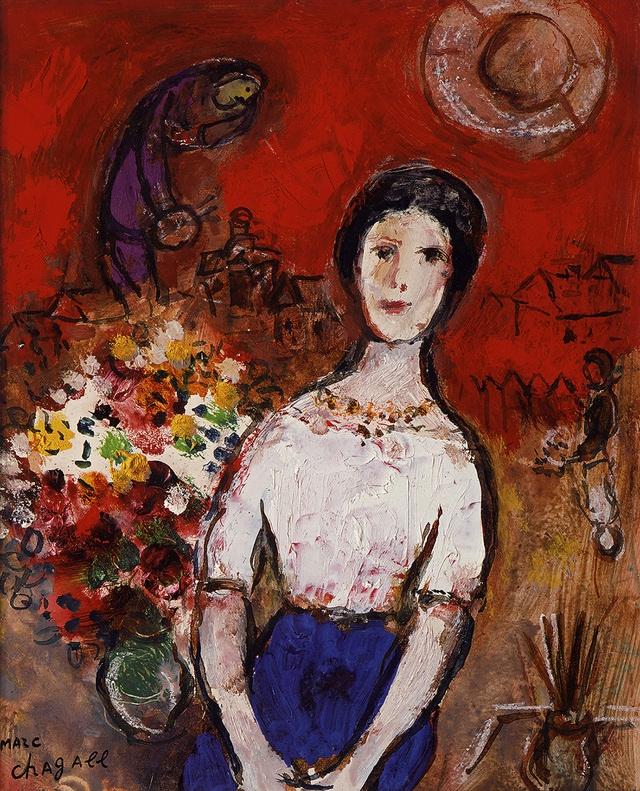 재혼한 부인 바바의 초상(1953~56)