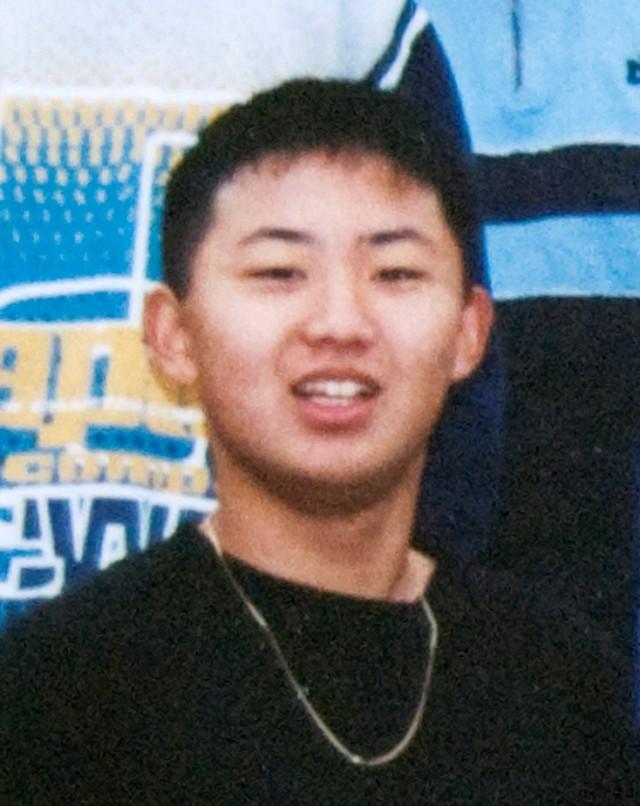 일본 마이니치신문이 보도한 김정은 북한 국방위원장의 16살 때의 모습. 연합뉴스