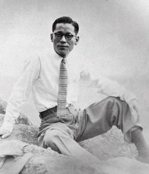 삼성그룹 이병철 회장은 일본 유학에서 돌아와 노름으로 세월을 보내다 1936년 26살 때 마산에서 협동정미소로 첫 사업을 시작했다. 사진은 1951년 일본 방문 때 모습. 호암재단 제공