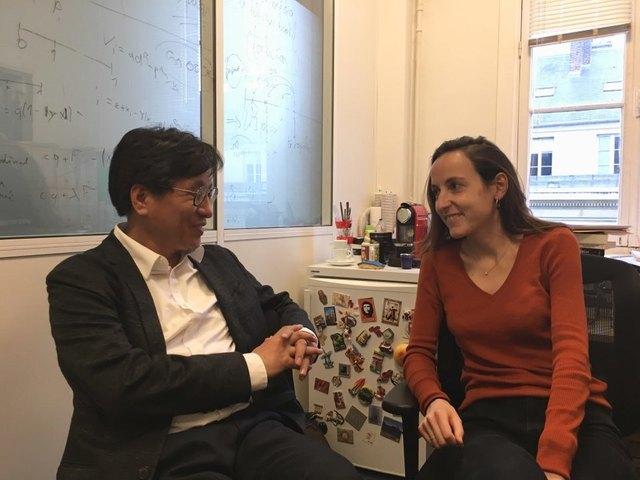 카제 교수와의 대담은 파리 7구 파리정치대학에 자리한 그의 연구실에서 1시간30분 남짓 진행됐다. 그와 남편 토마 피케티 교수는 오는 10월30~31일 이틀간 서울에서 열리는 제9회 아시아미래포럼에서 연사로 참석한다.