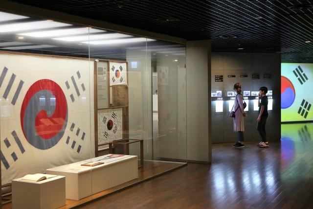 대한민국역사박물관의 전시실.   이병학 선임기자
