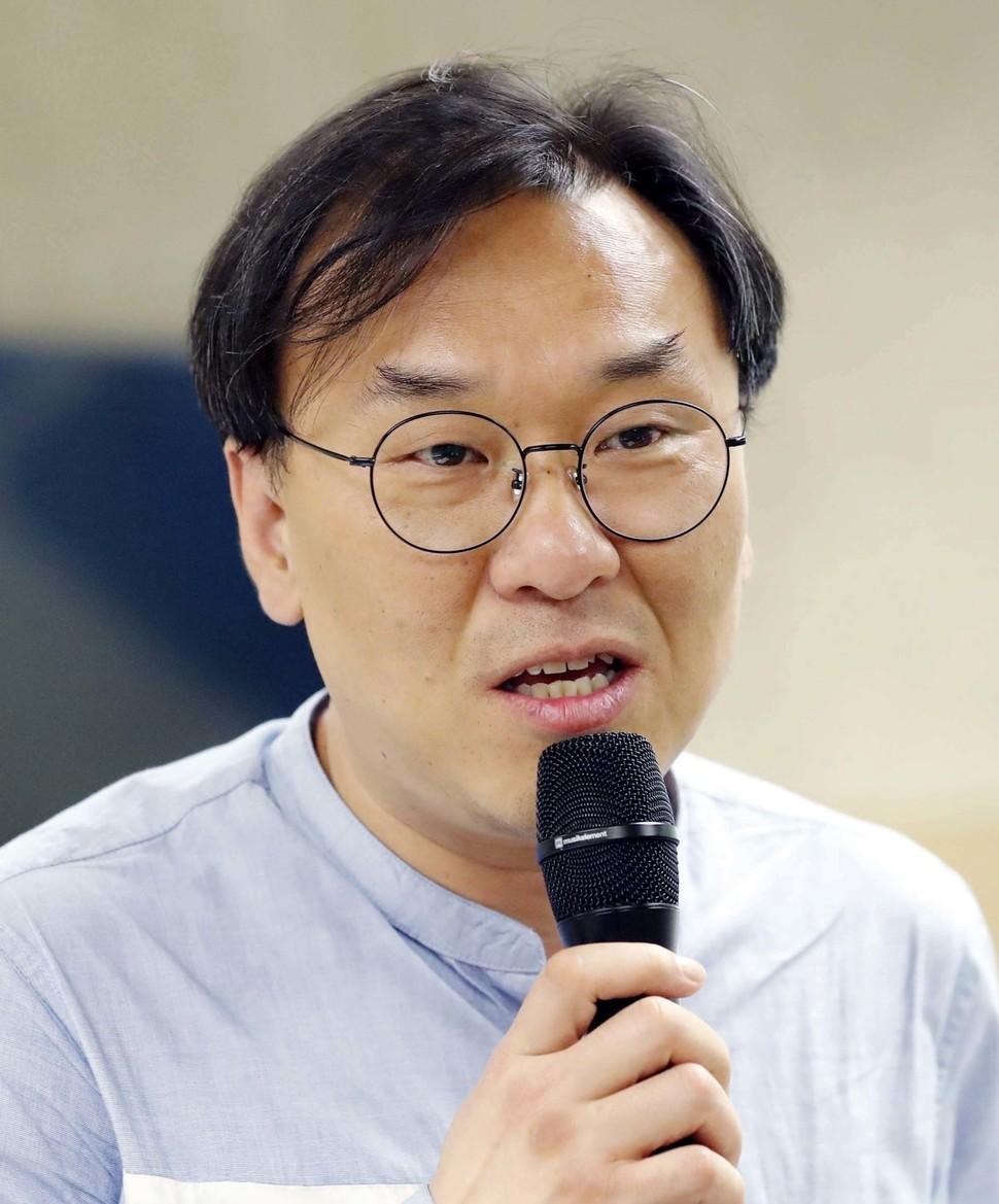 하승우 녹색당 정책위원장