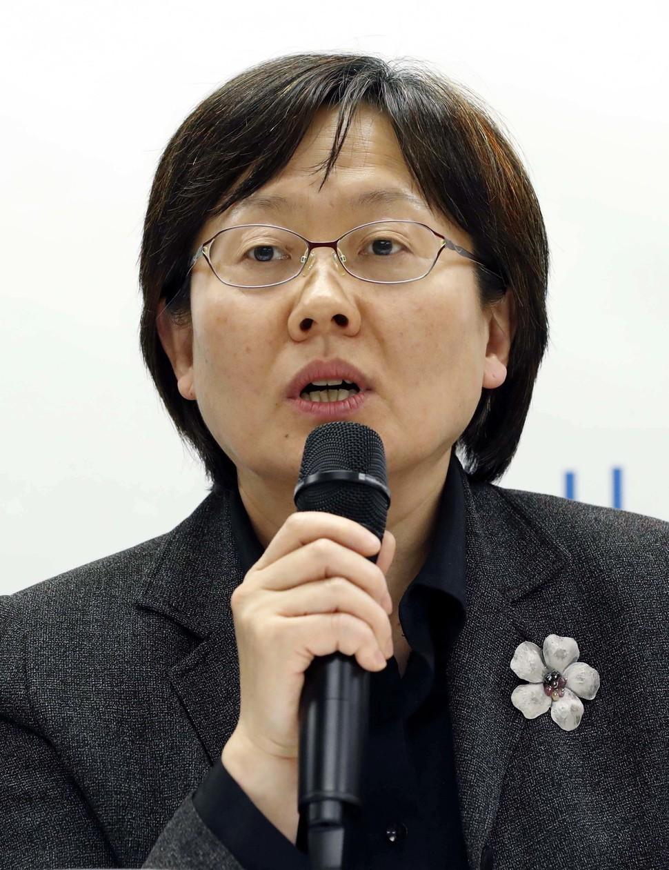 안인숙 한국사회적경제연대회의 집행위원장