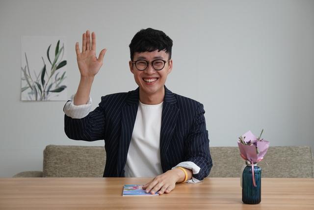 """'청주백수'로 자신을 소개하는 이재헌 예비후보는 """"남들과 다르게 살아도 존중받아야 한다""""고 강조한다. 이재헌 예비후보 제공"""