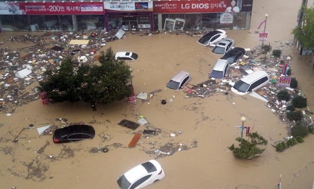 친절해지는 태풍 정보 최근접 시기 알려준다