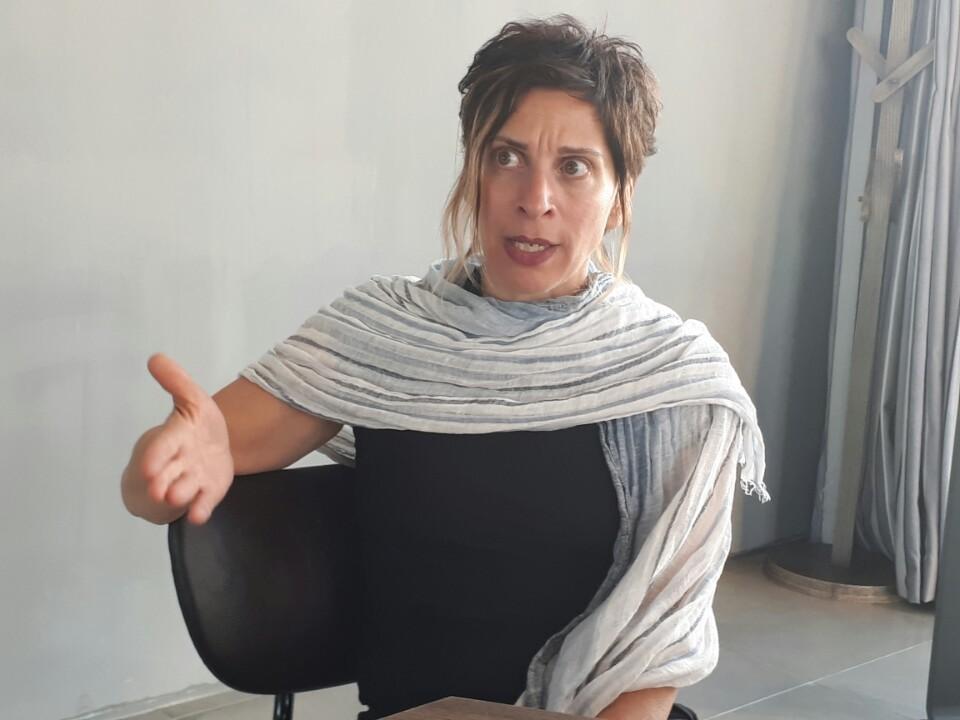 지난 19일 <한겨레> 와 만난 레일라니 파르하(Leilani Farha) 유엔 주거권특별보고관이 14일부터 둘러본 한국의 주거 상황에 대해 이야기하고 있다. 박현정 기자