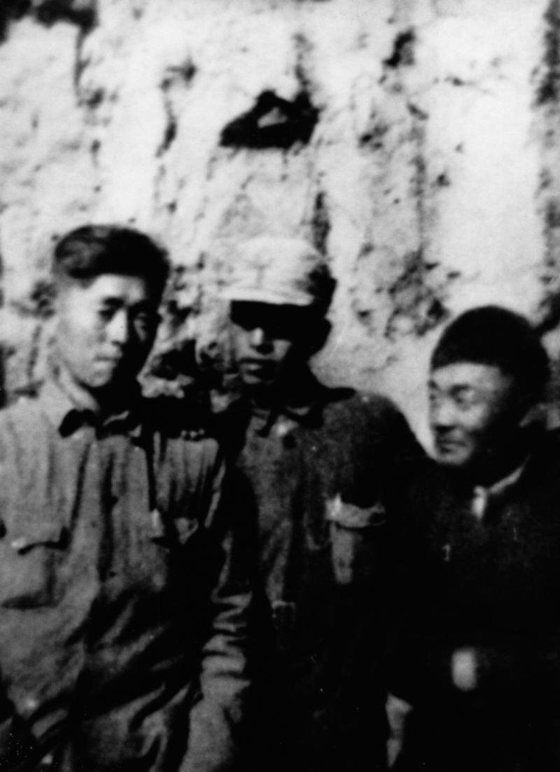 정율성이 1942년 조선의용군 시절 중국 타이항산에서 찍은 사진. 민속원 제공