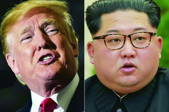 도널드 트럼프 미국 대통령과 김정은 북한 국무위원장 사이의 사상 첫 북-미 회담이 코앞에 다가오며 의전 준비에 비상이 걸렸다.