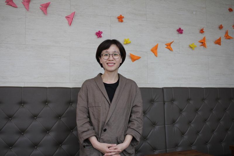 김한영 민중당 서울 관악구의원 후보를 서울 신림동의 행복마을마더센터에서 만났다.