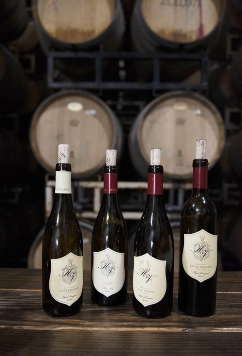 '하이드 드 빌렌'의 와인들.