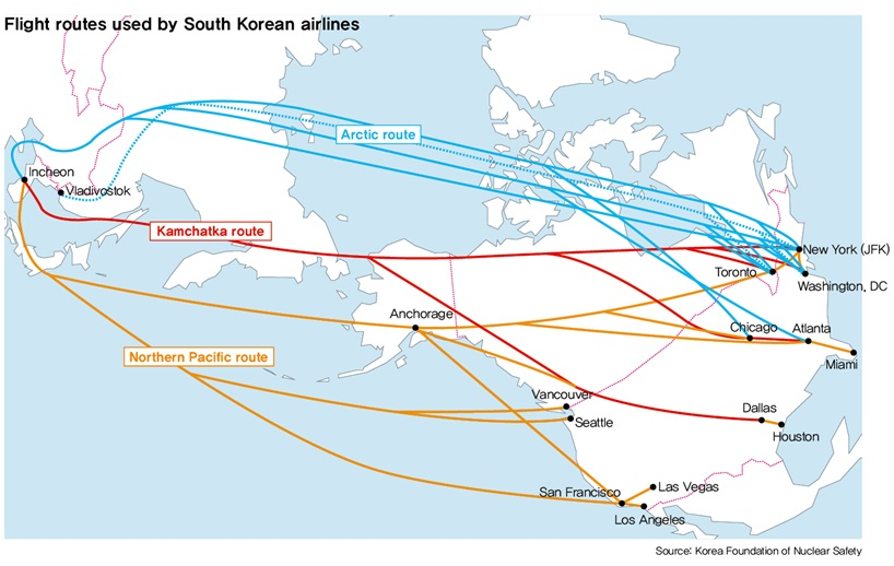 Special feature] The dangers of flying over polar routes : Business