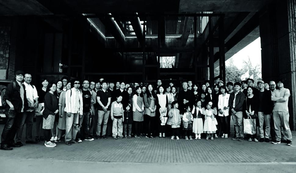 '서울 어린이대공원 꿈마루'에서 제자들과 함께한 모임